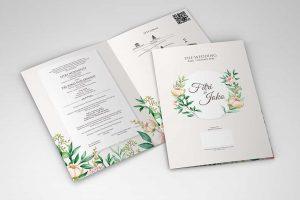 Harga Desain Kartu Undangan Pernikahan Hitamedia